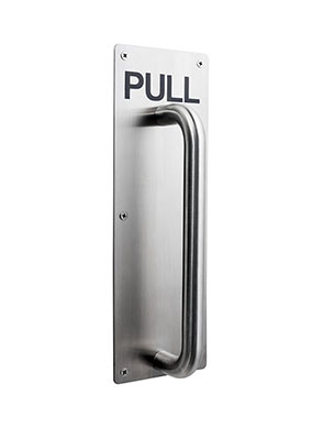 Pull Handles On Plate